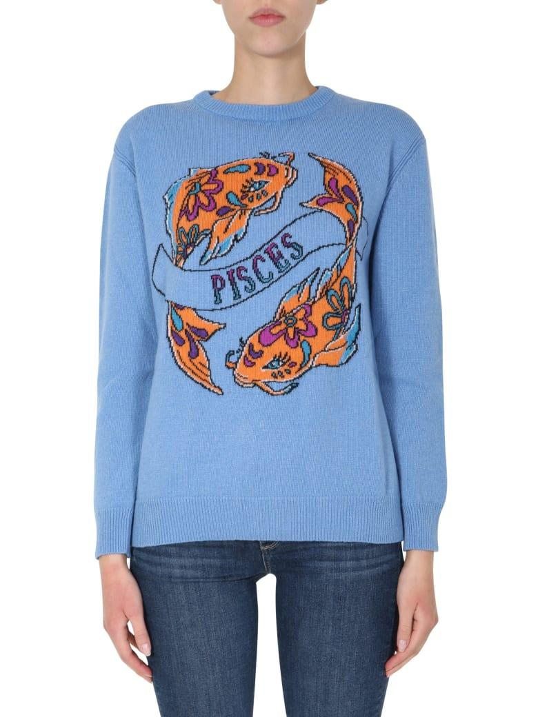 Alberta Ferretti Love Me Starlight Sweater - AZZURRO