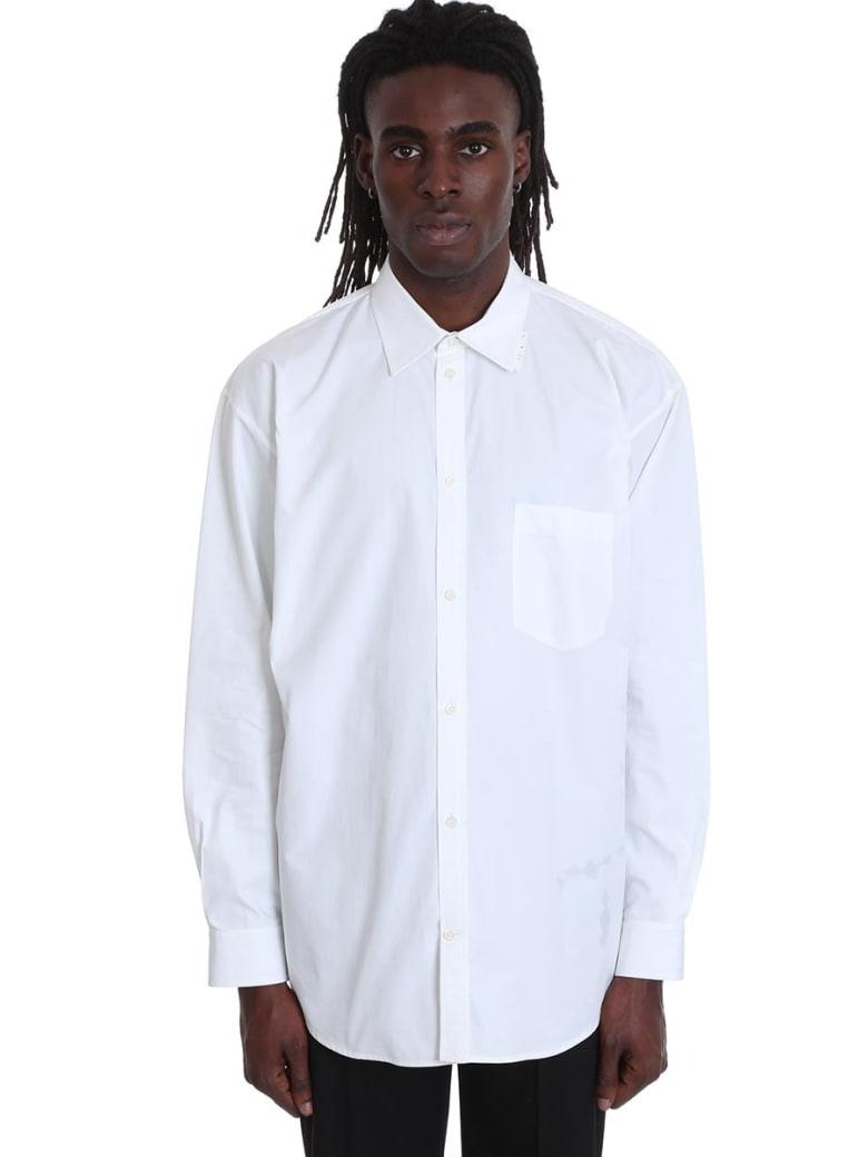 Balenciaga Shirt In White Cotton - white