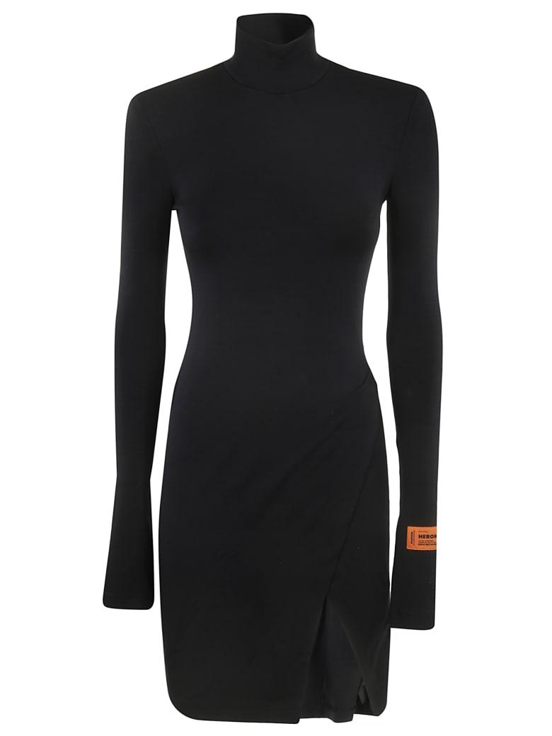 HERON PRESTON Jersey Dress - Black