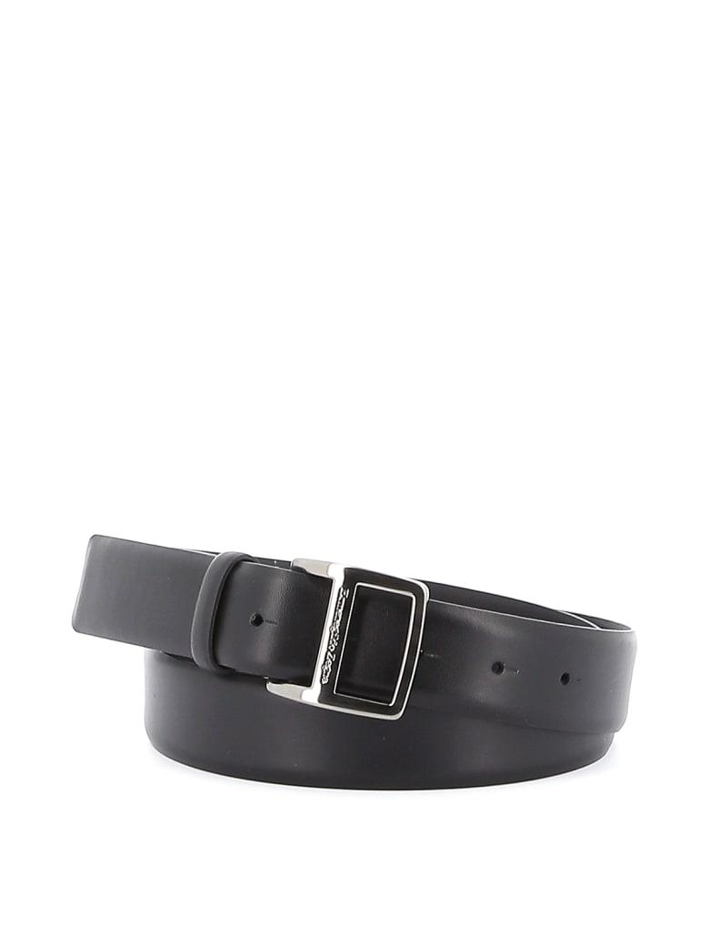 Ermenegildo Zegna Belt - Blk Black