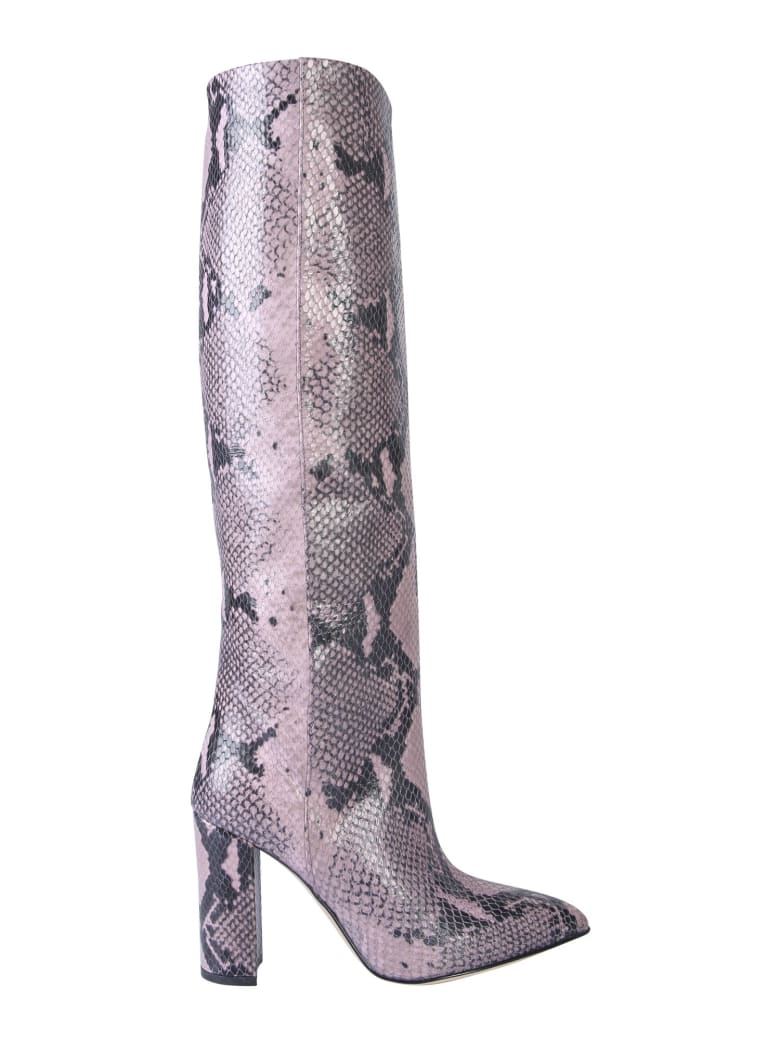 Paris Texas Leather Boot - BRONZO