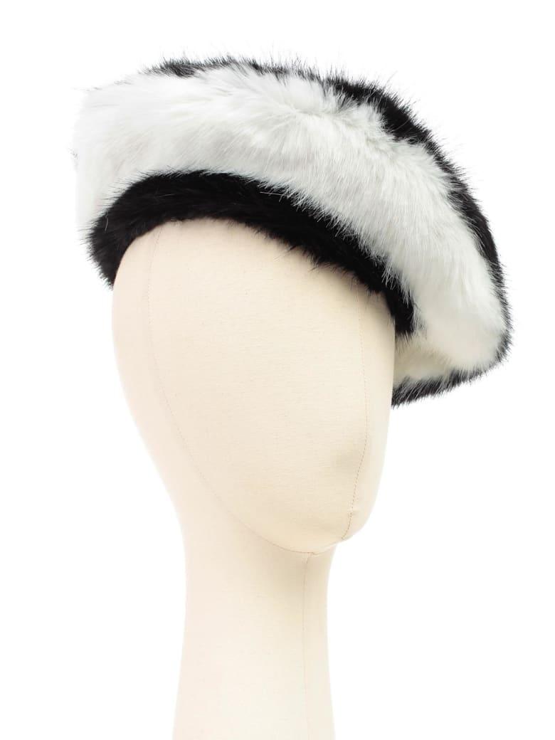 Emporio Armani Hat Faux Fur Bicolour - Nero