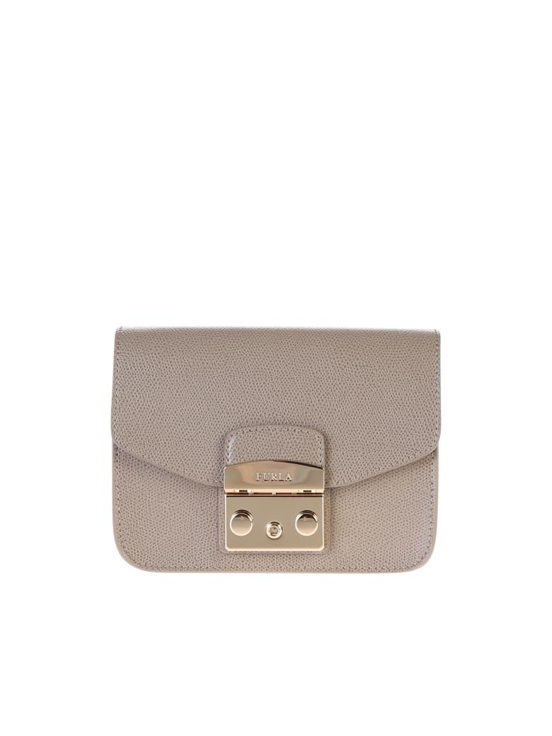 Furla Metropolis Mini Bag - Beige