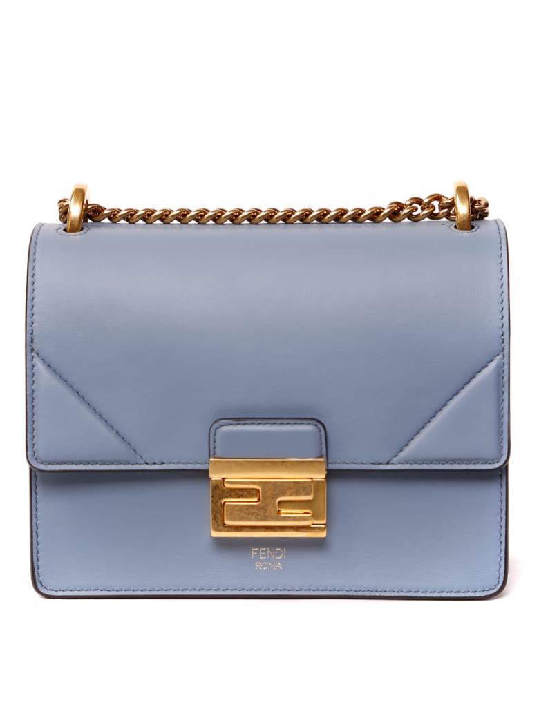 Fendi Kan U Small Leather Shoulder Bag - A.merlino+ovibr