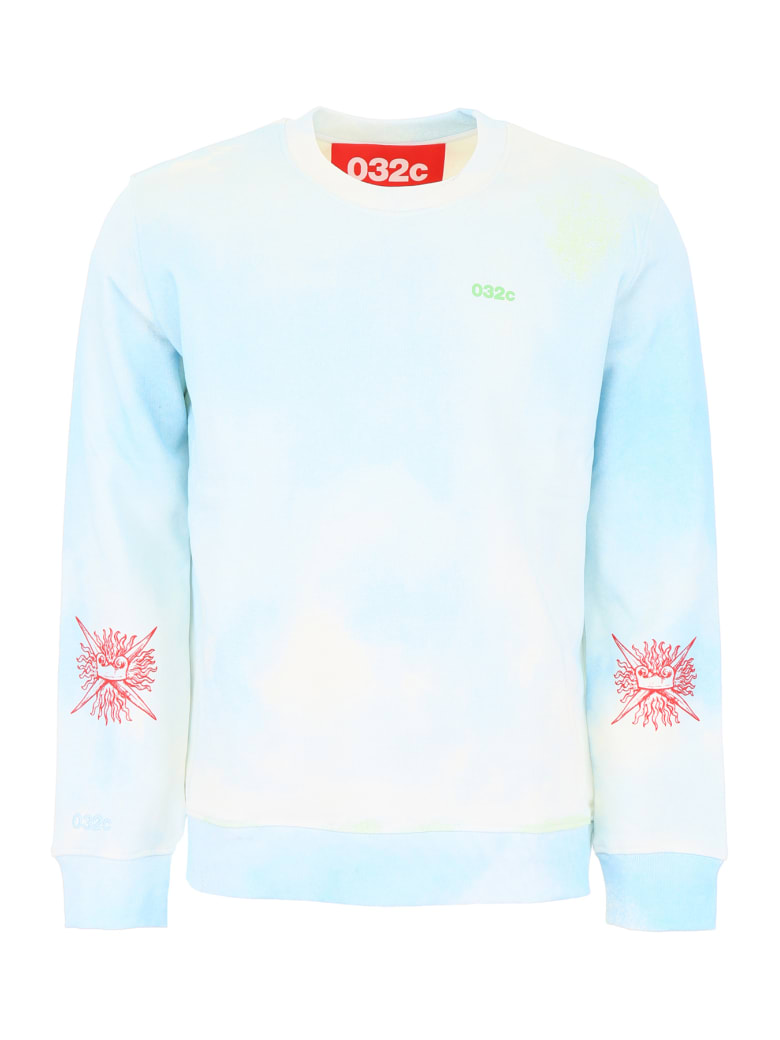 032c Workshop Sweatshirt - BLUE (Light blue)