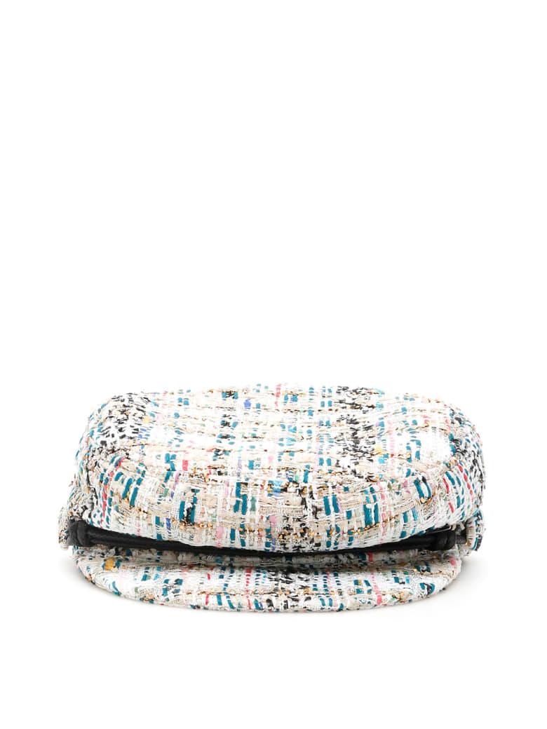 Maison Michel New Abby Tweed Hat - MULTI