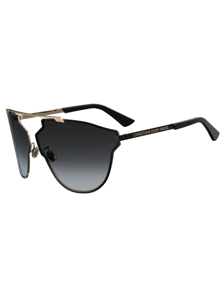 Christian Dior DIORSOREALFAST Sunglasses - O Gold Black