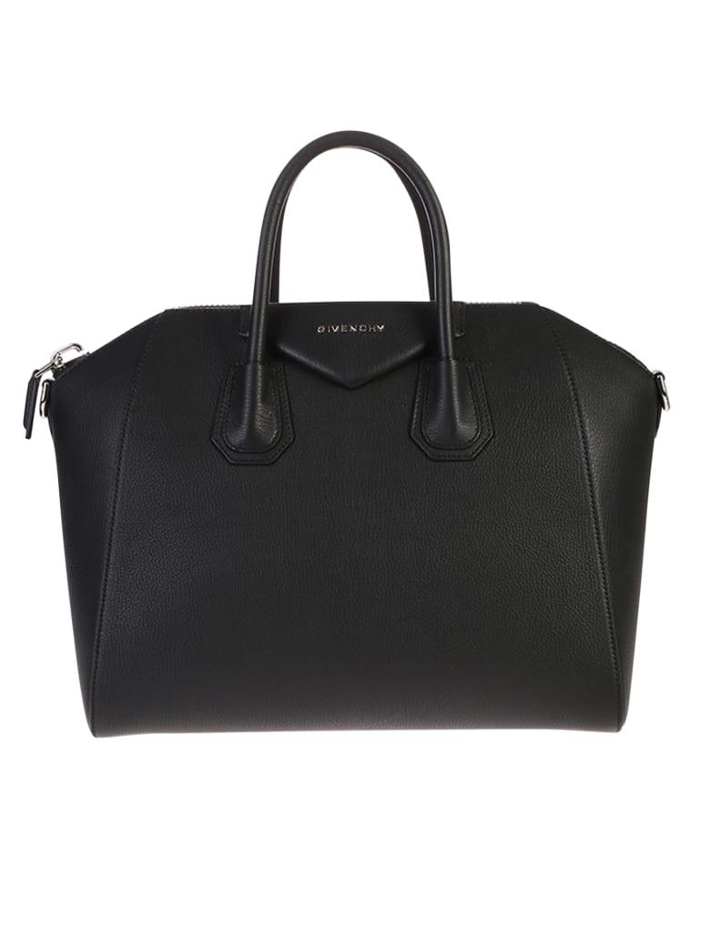 Givenchy Black Medium Antigona Bag - Black