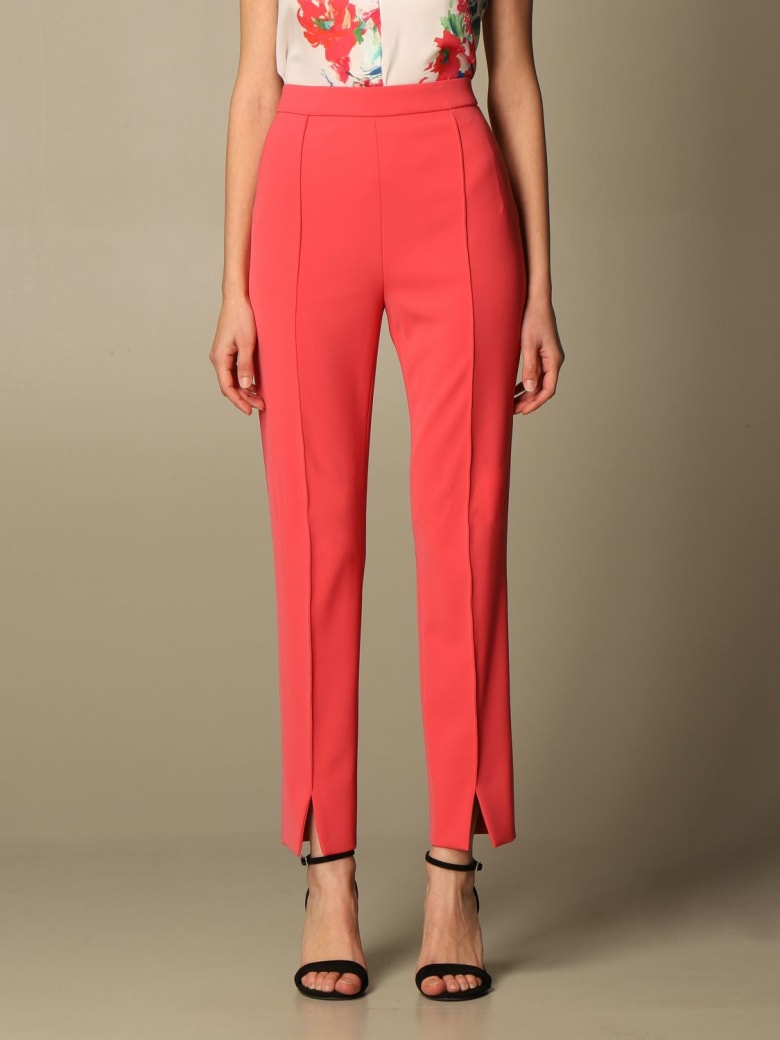 Boutique Moschino Pants Moschino Boutique Slim Cady Trousers - Fuchsia