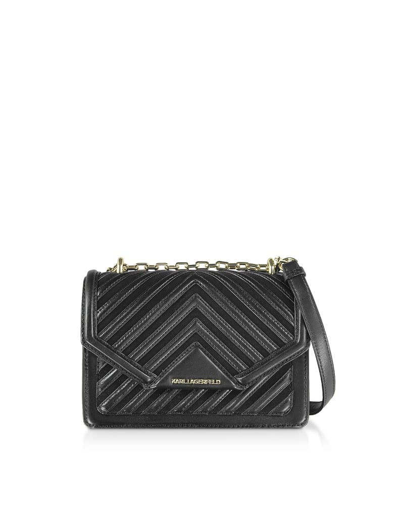 los angeles on feet images of cheap sale Karl Lagerfeld Karl Lagerfeld K/klassik Quilted Small Crossbody ...