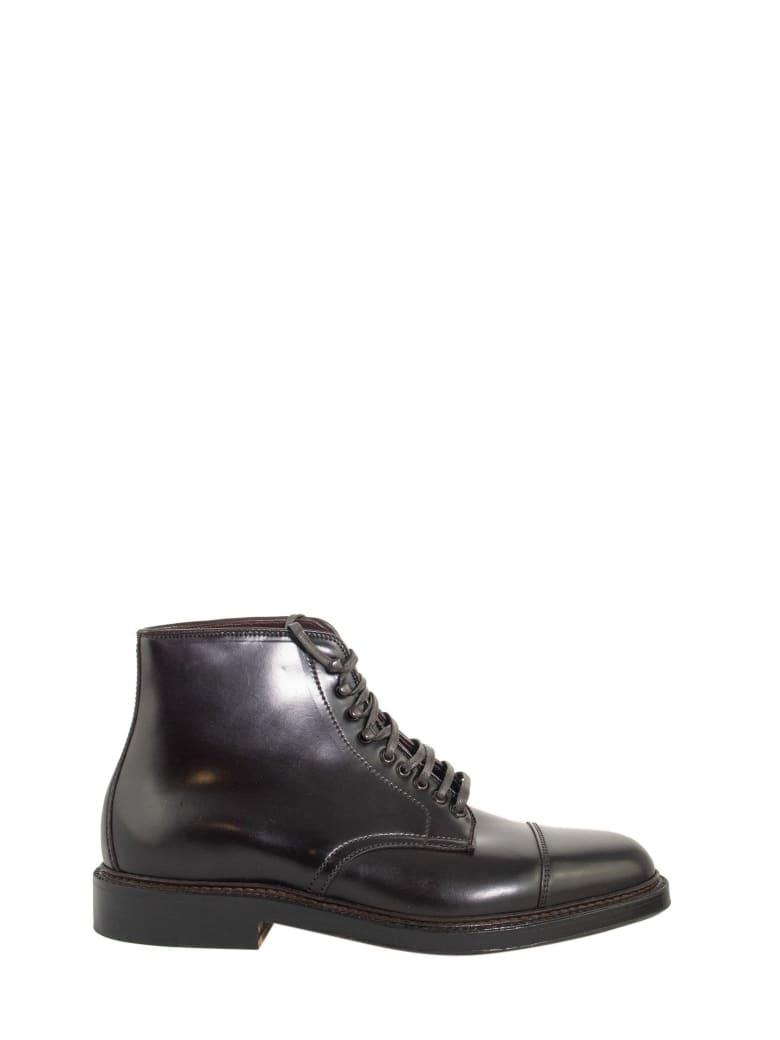 Alden Cordovan Boot Leather - Burgundy
