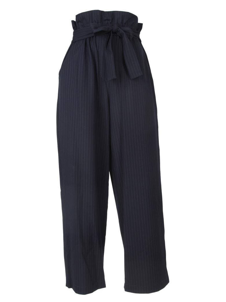 3.1 Phillip Lim Pantaloni A Vita Alta - Navy/indigo