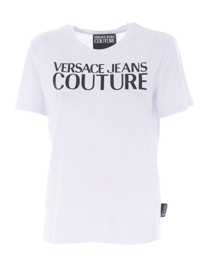 Versace Jeans Couture Short Sleeve T-Shirt - Bianco