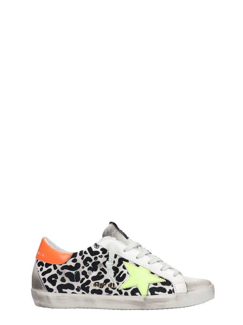 Golden Goose Superstar Sneakers In White Tech/synthetic - white