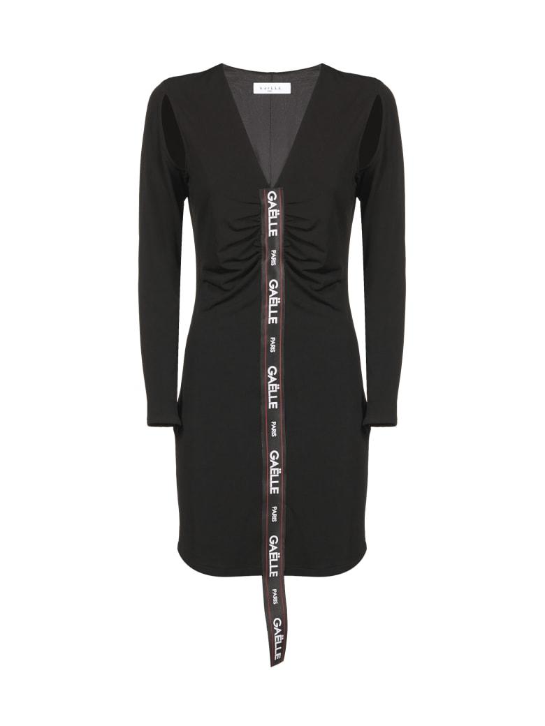 Gaelle Bonheur Dress - Nero bianco rosso