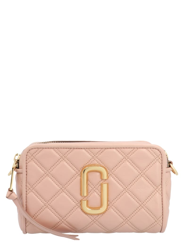 Marc Jacobs 'the Quilted Softshot 21' Bag - Pink