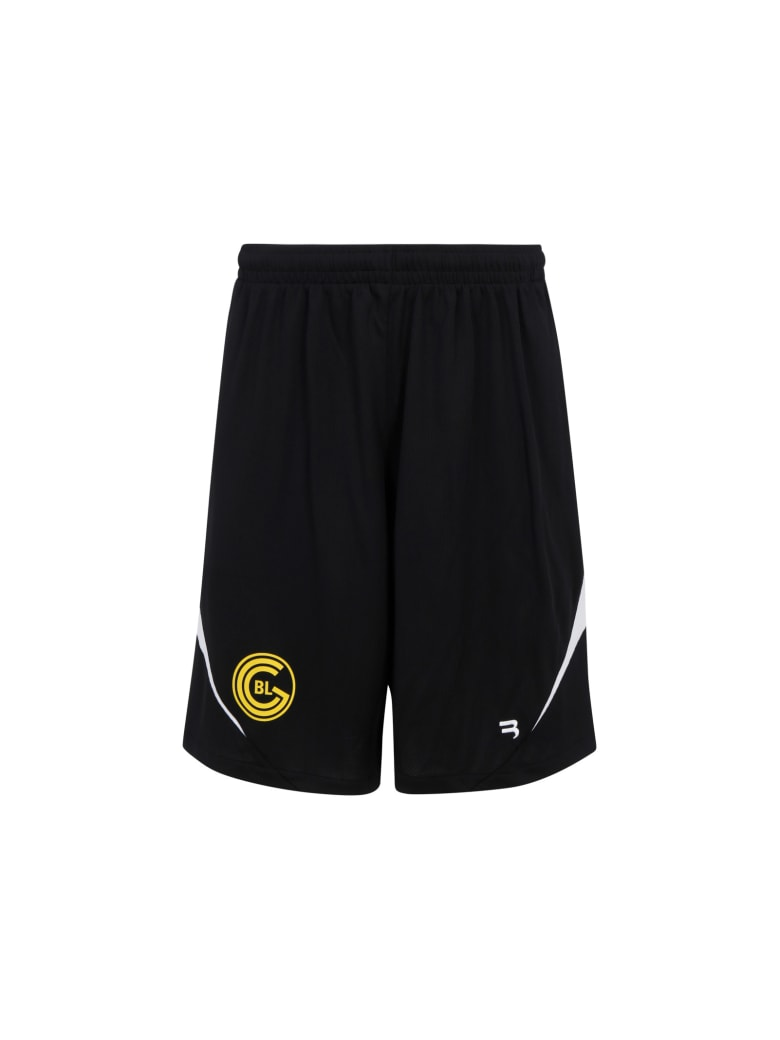 Balenciaga Bermuda Shorts - Black/white