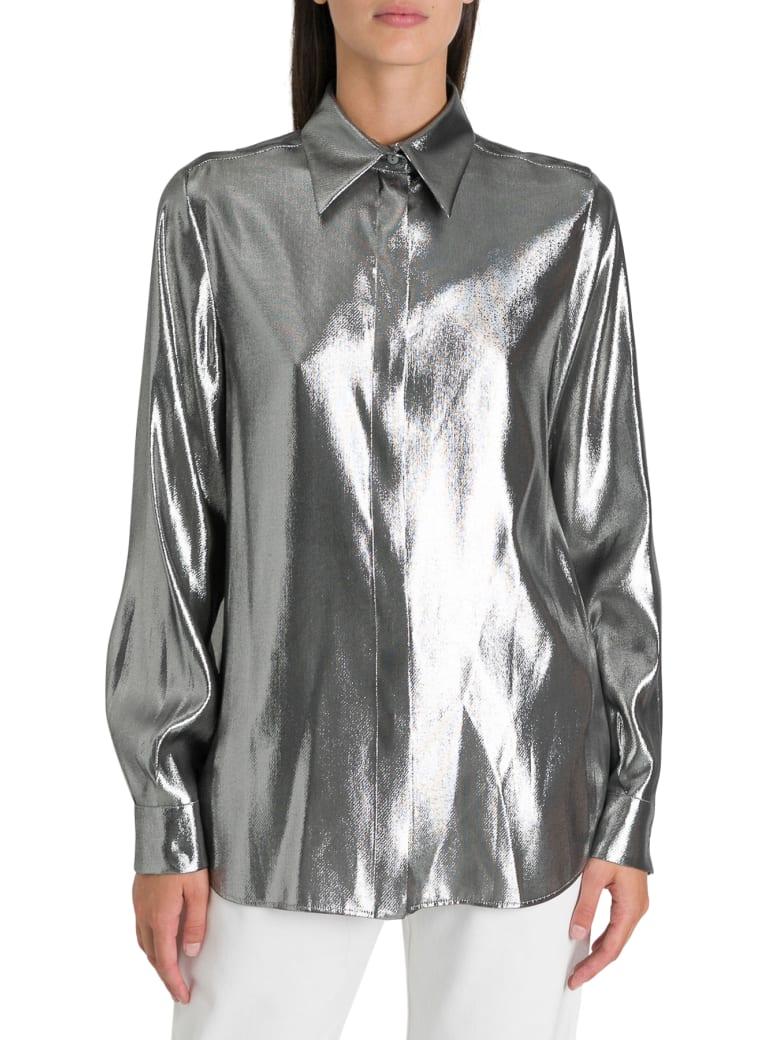 Alberta Ferretti Foil Shirt - Argento