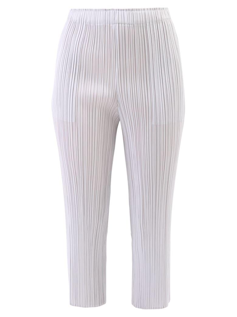 Issey Miyake Pleated Trousers - Black