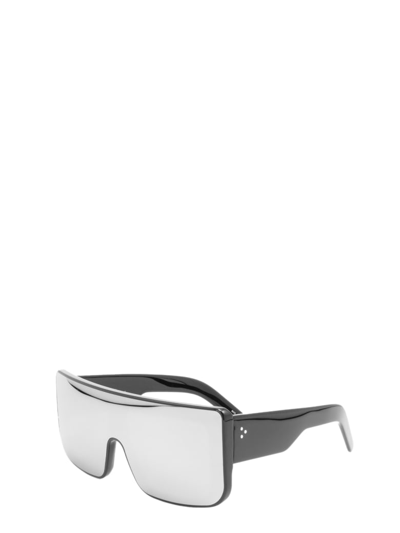 Rick Owens Sunglasses Documenta - Nero specchiato