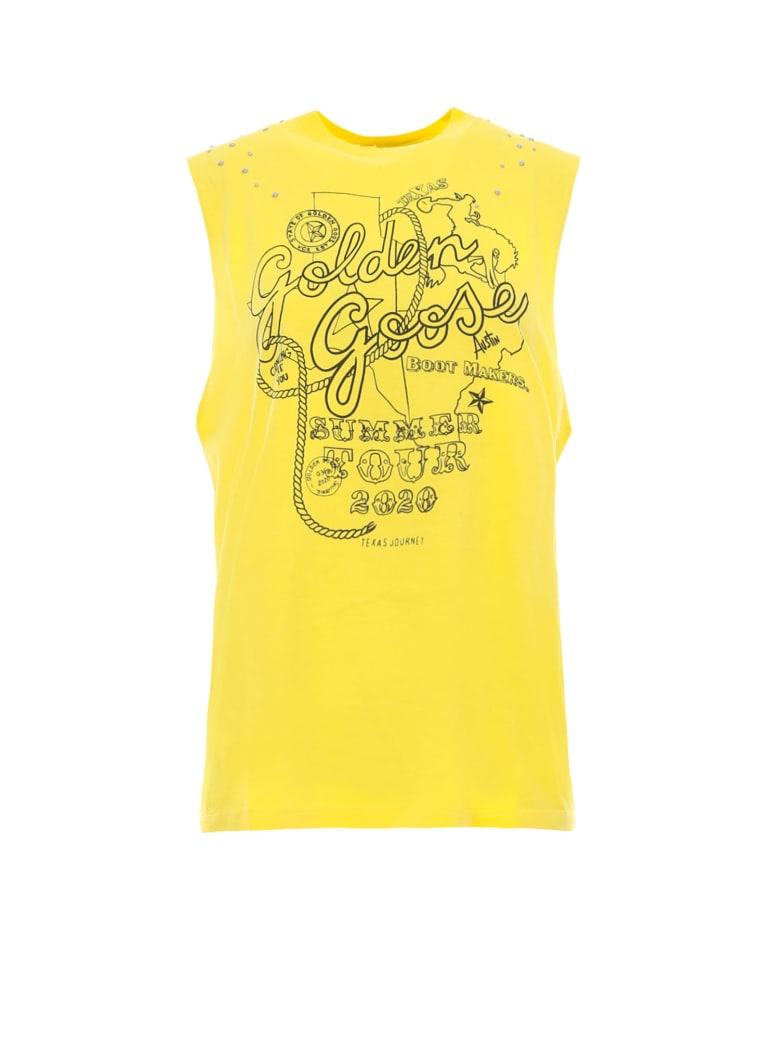 Golden Goose T-shirt - Yellow