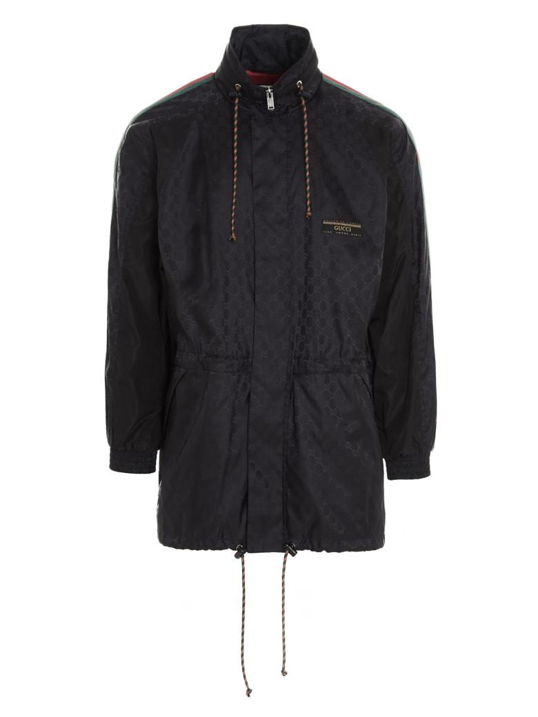 Gucci 'gg Supreme' Jacket - Nero.