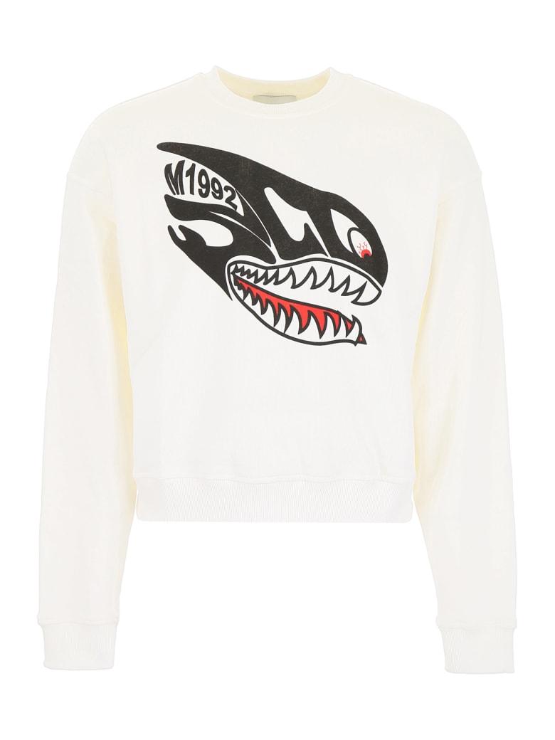 M1992 Shark Sweatshirt - BIANCO NATURALE (White)