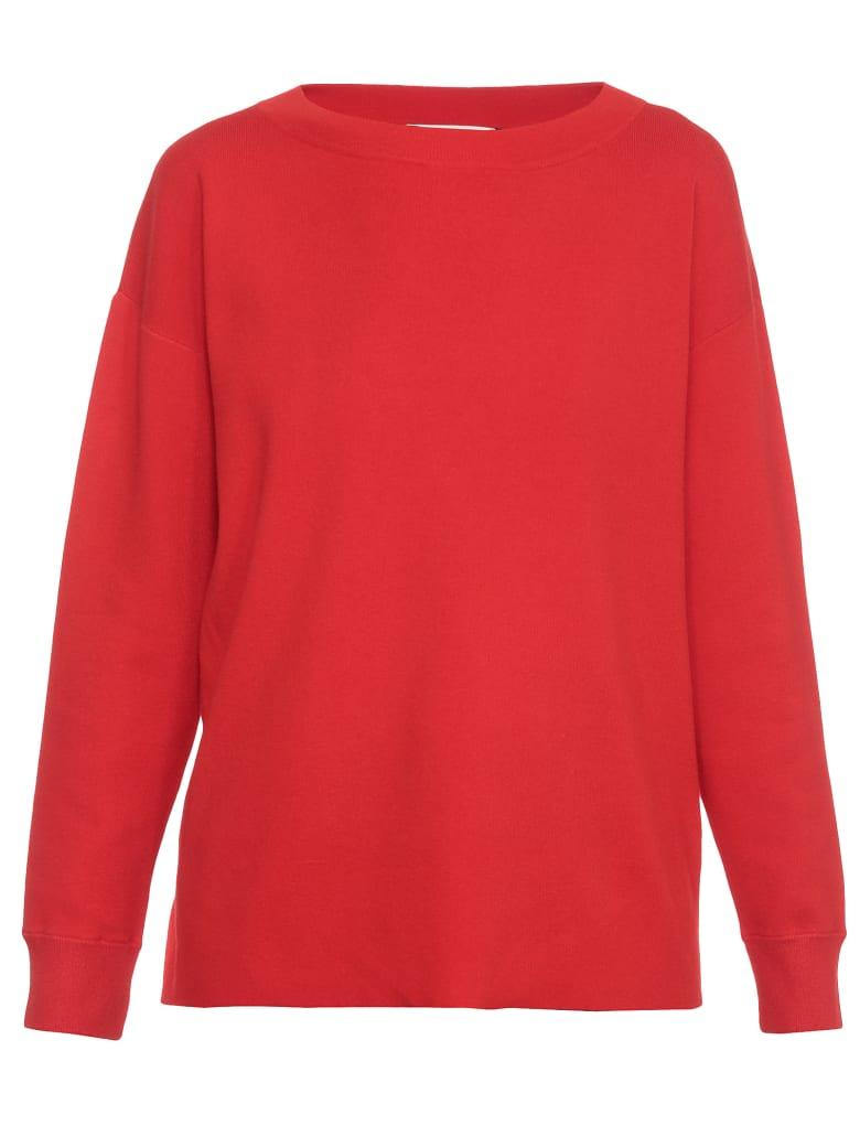Alice + Olivia Plain Color Sweater - PAPRIKA