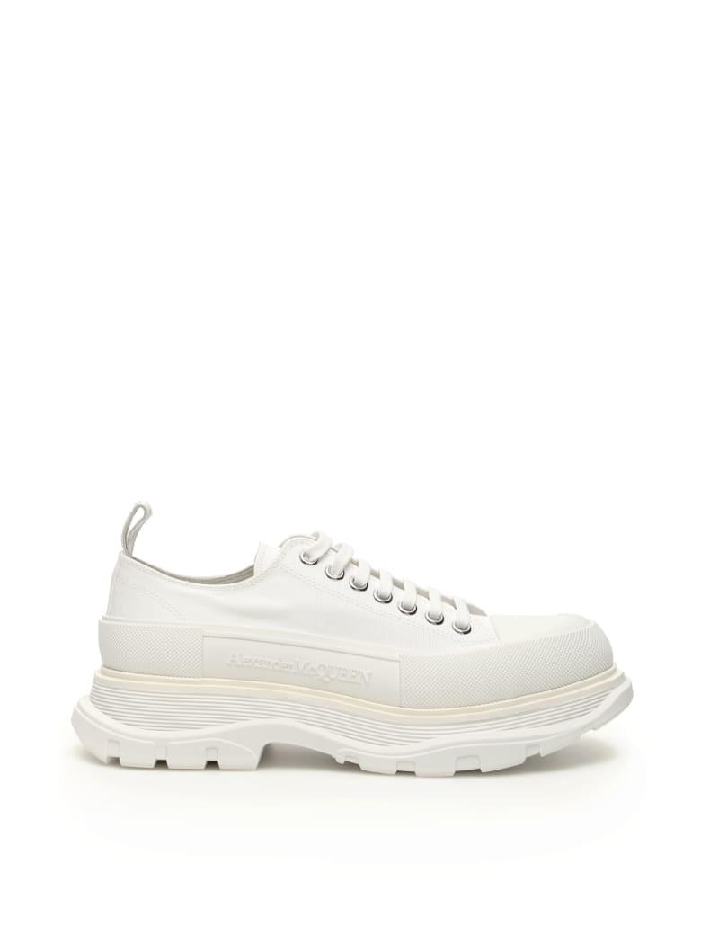 Alexander McQueen Tread Sleek Lace-ups - WHITE WHITE WHITE (White)