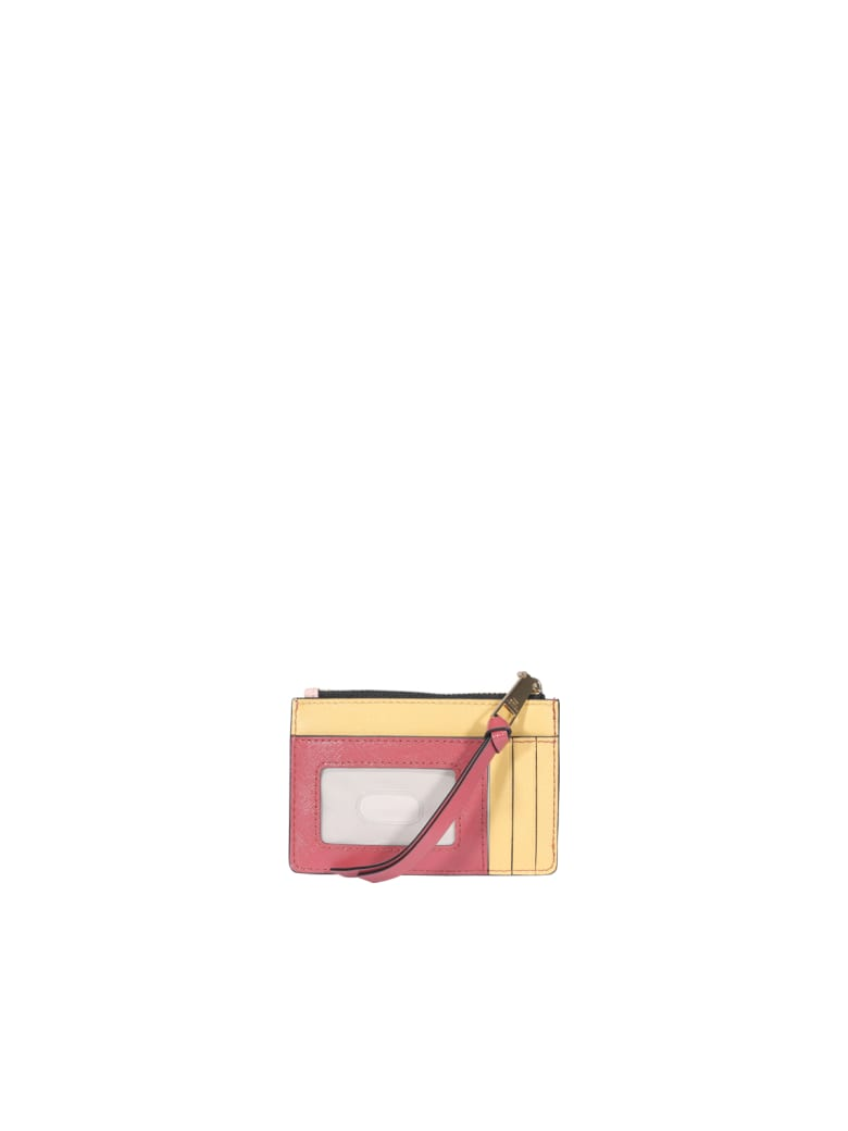 Marc Jacobs Snapshot Wallet - New rose multi