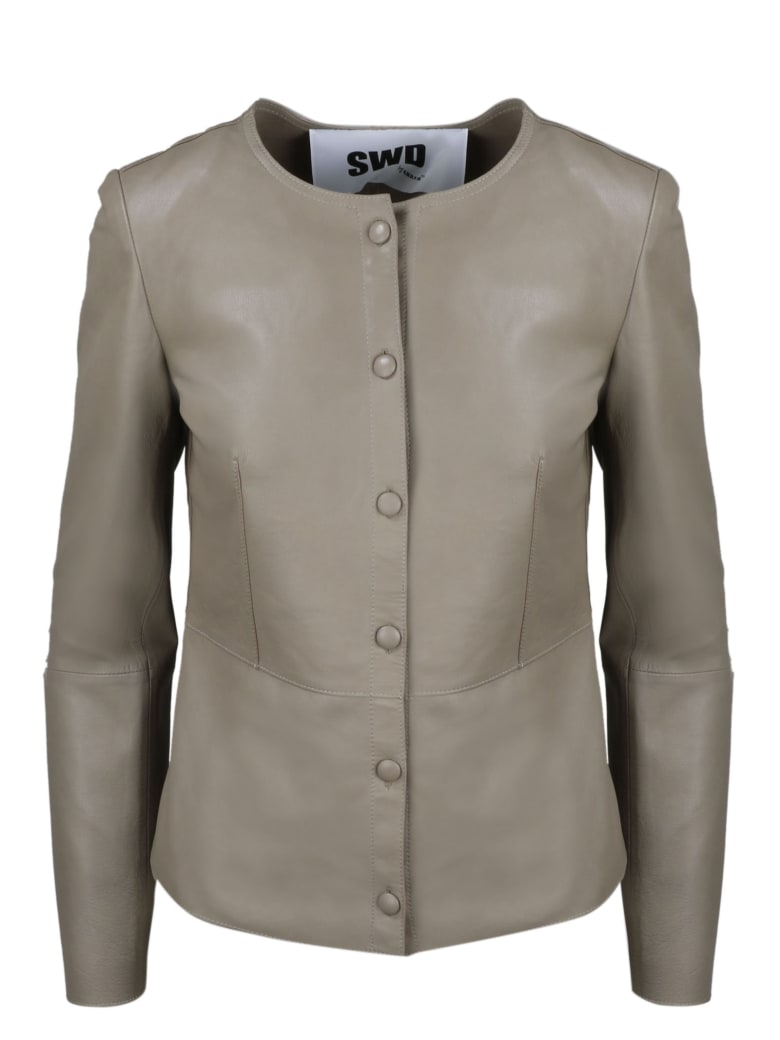 S.W.O.R.D 6.6.44 Leather Jacket - Brown