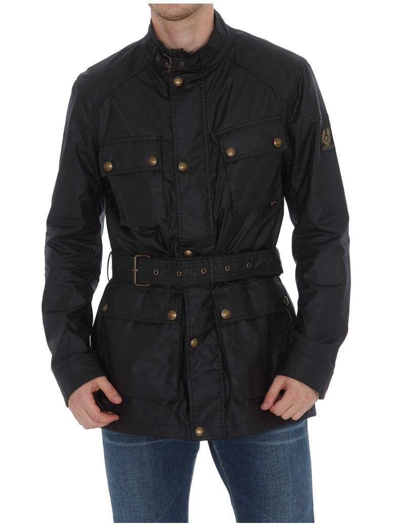 Belstaff Trialmaster Long Jacket - Black