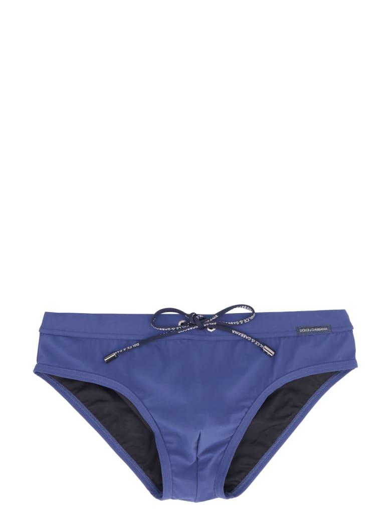 Dolce & Gabbana Swim Briefs - blue