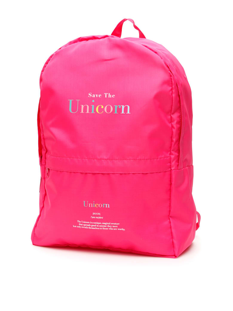 "IRENEISGOOD ""save The Unicorn"" Backpack - FUXIA (Fuchsia)"