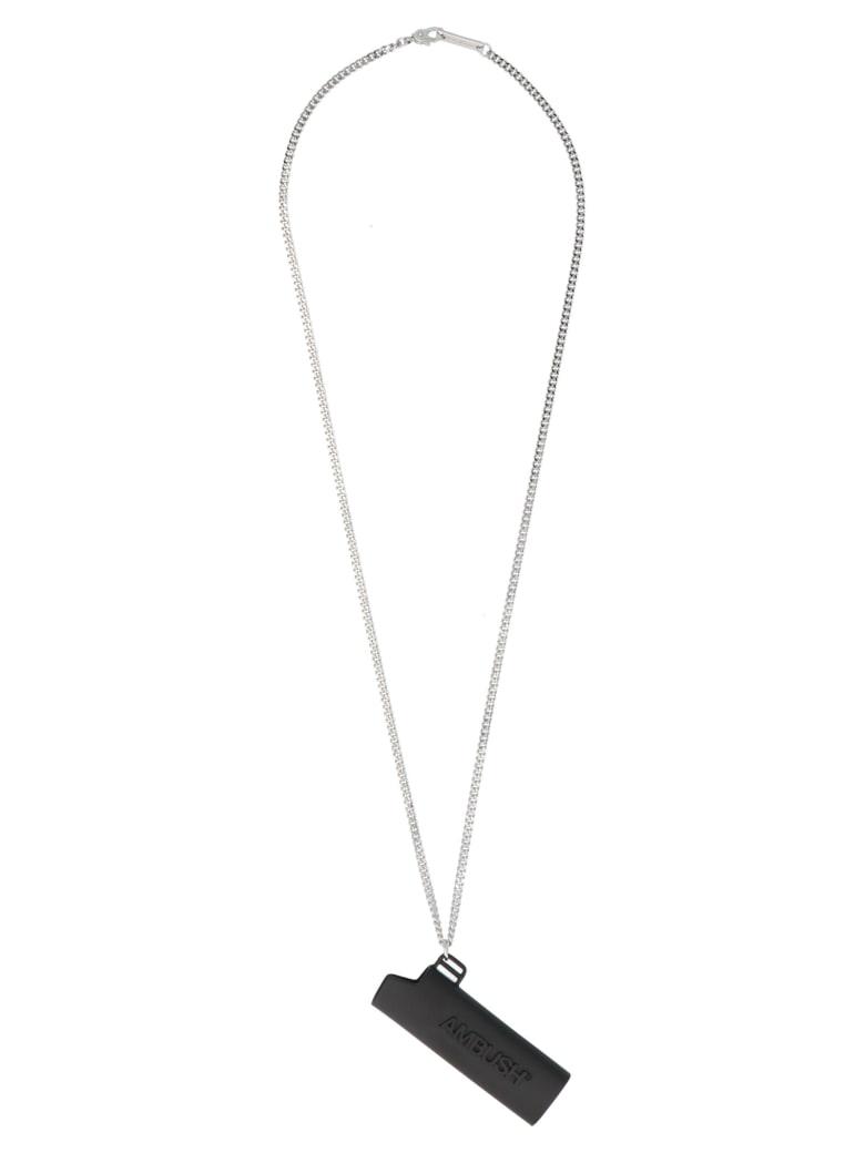 AMBUSH 'lighter Case' Necklace - Black