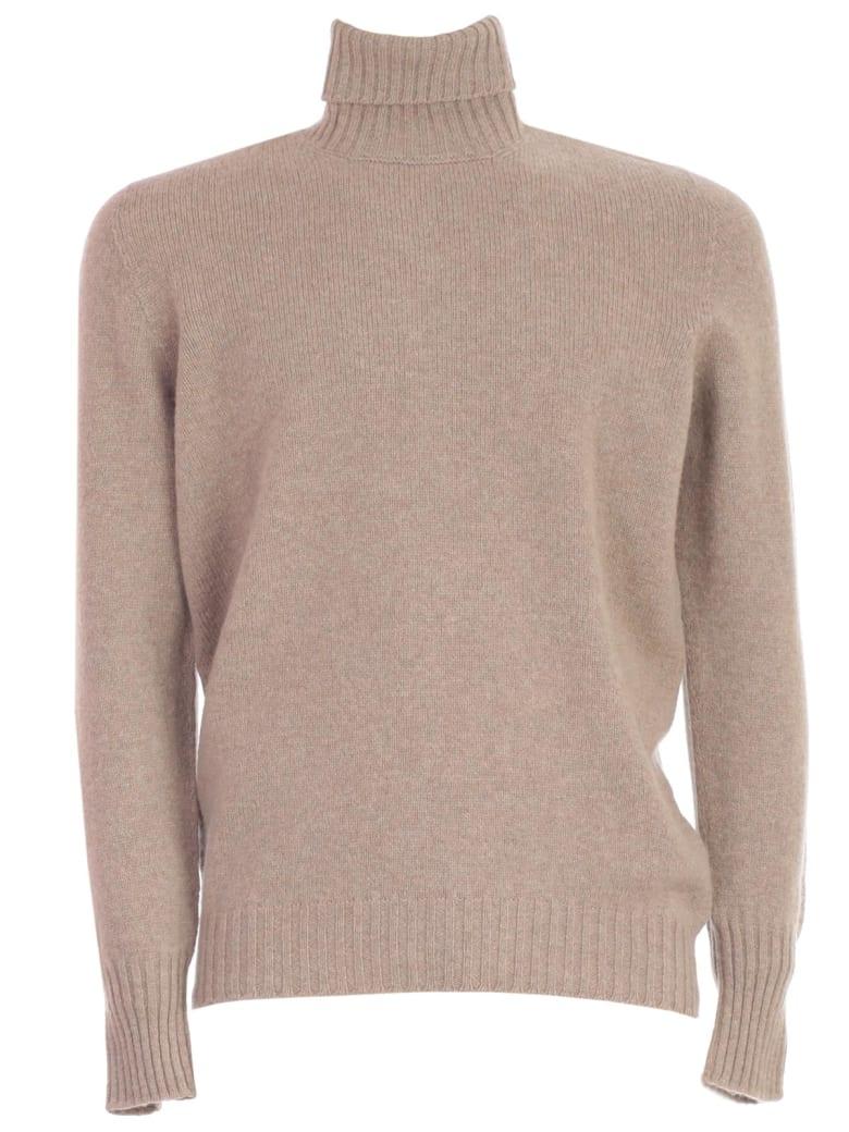 Drumohr Sweater Turtle Neck Geelong - Beige Freddo