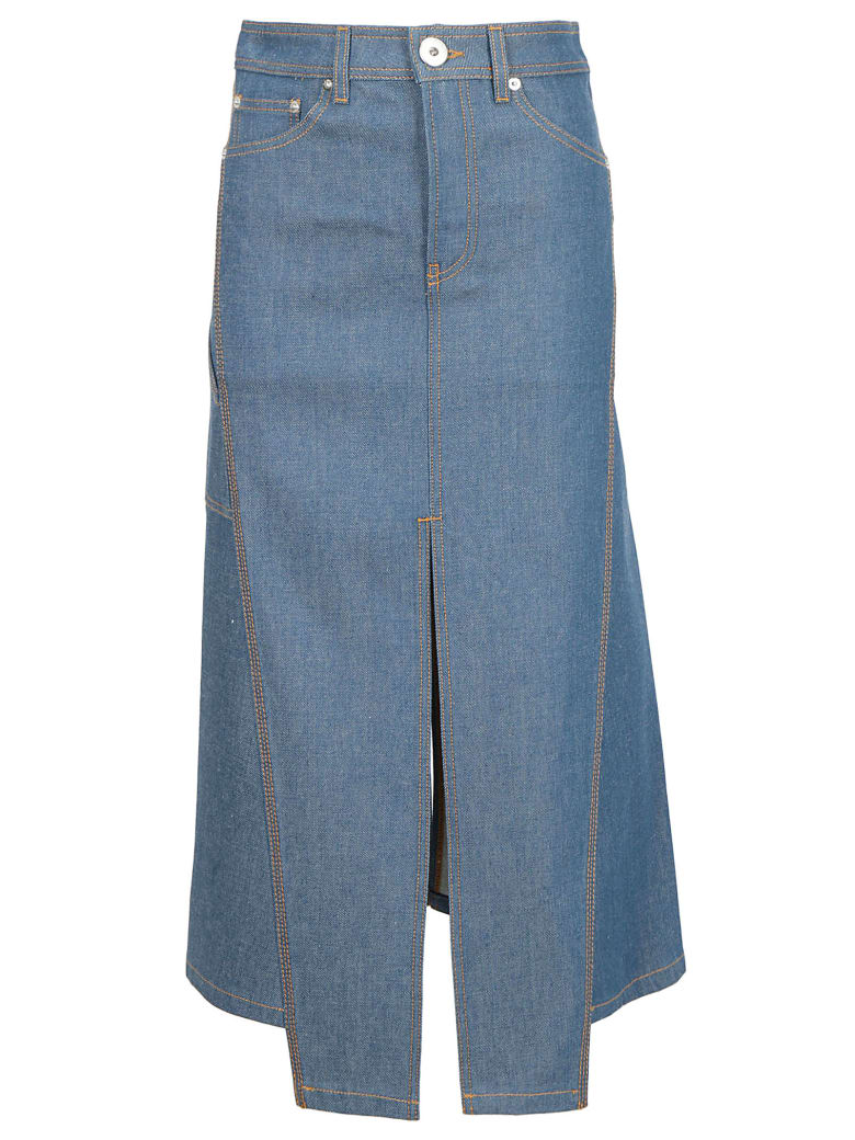 Lanvin Jeans Skirt - Cloud