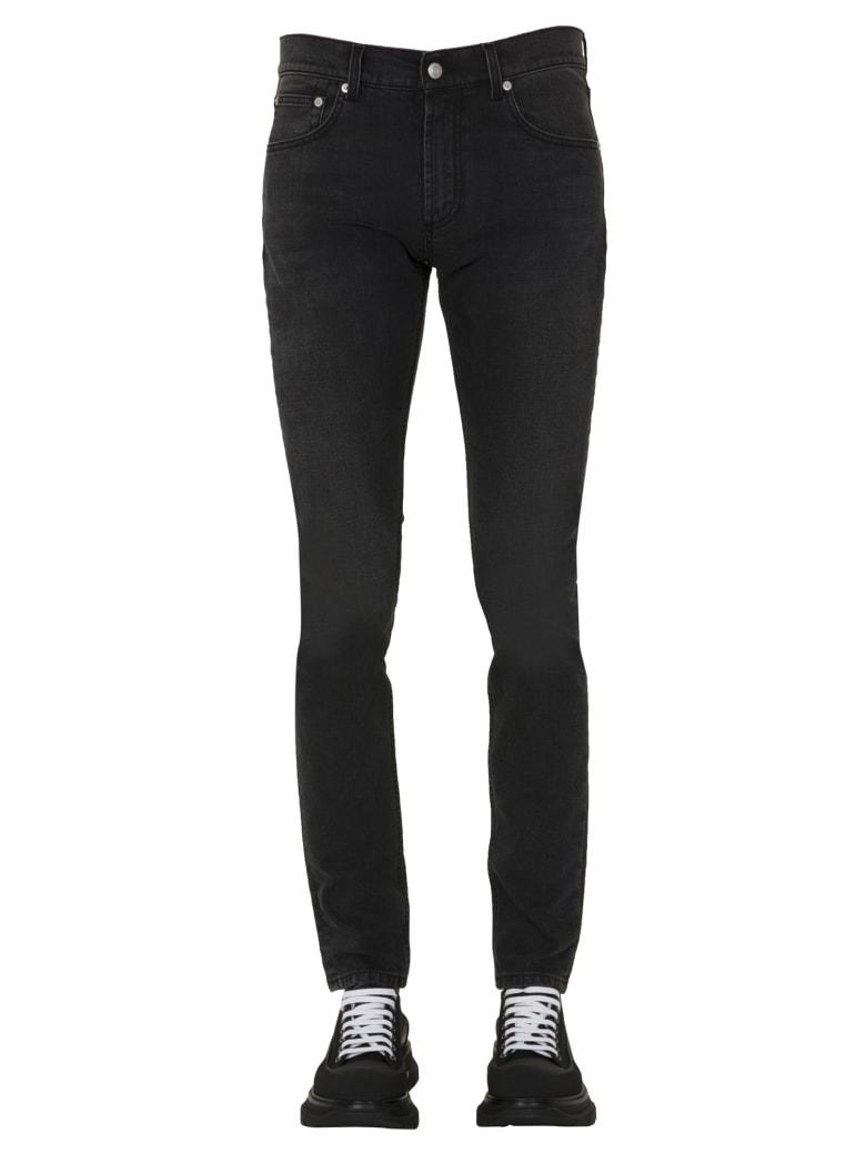 Alexander McQueen Slim Fit Jeans - NERO