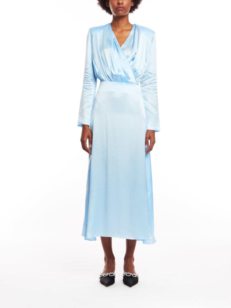 MATÉRIEL Dress W/ Side Cutouts - Light Blue Lgtb