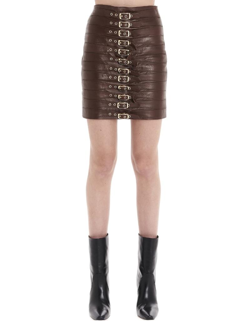 Manokhi 'dita' Skirt - Brown