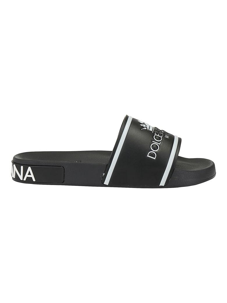 Dolce & Gabbana Slide - Nero/bianco