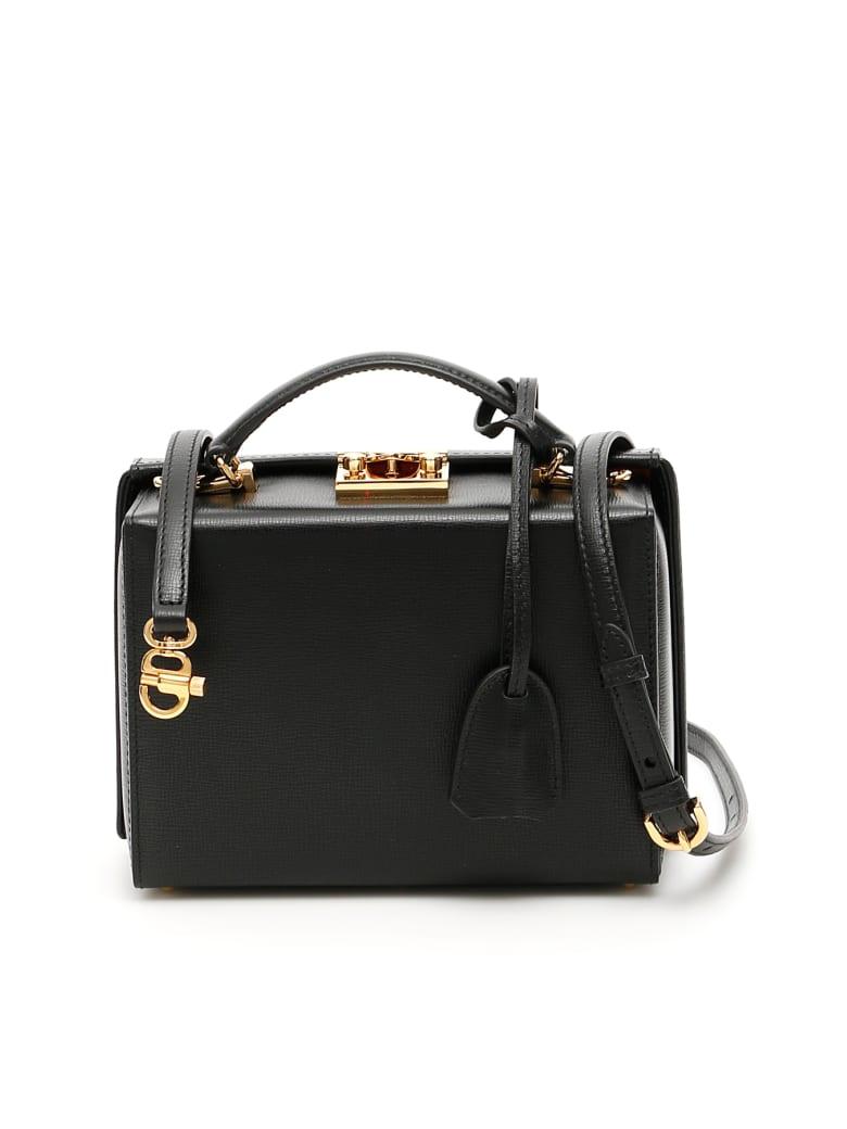 Mark Cross Grace Small Bag Caviar - BLACK (Black)