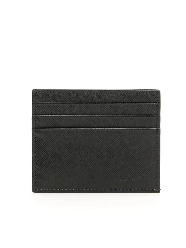 Prada Saffiano Cardholder - NERO (Black)
