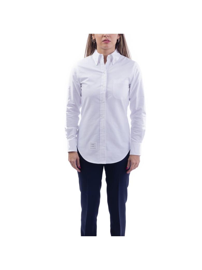 Thom Browne Cotton Blouse - WHITE