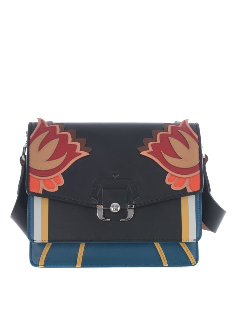 Paula Cademartori Shoulder Bag - Nero/petrolio