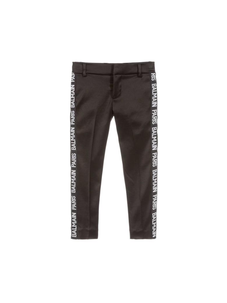 Balmain Black Teen Pants - Nera