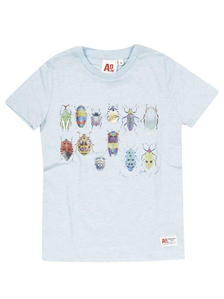 AO76 Bugs Print T-shirt - Blue