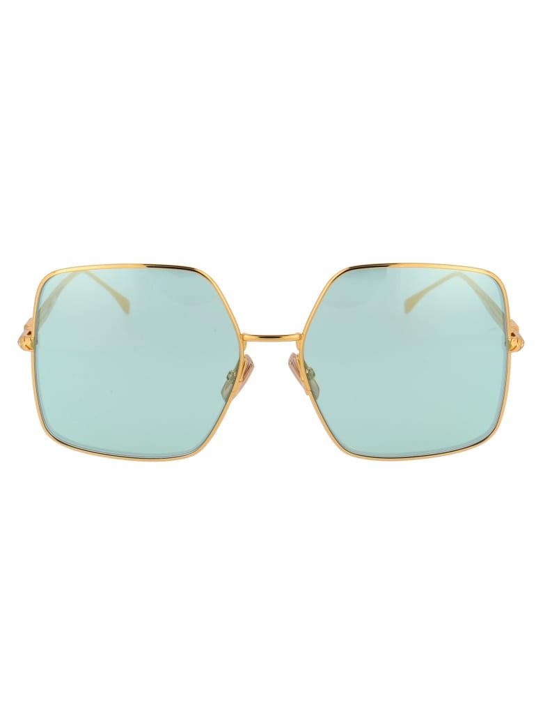 Fendi Ff 0439/s Sunglasses -  001O7 YELLOW GOLD