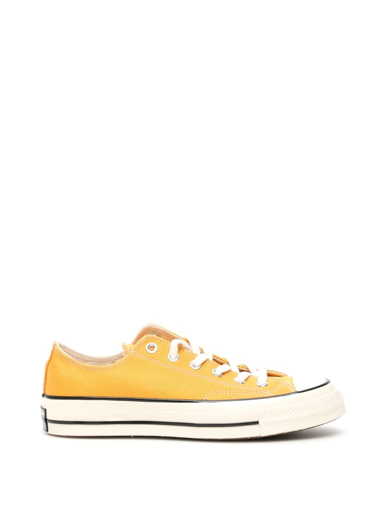 Converse Chuck 70 Sneakers - SUNFLOWERS BLACK EGRET (Yellow)