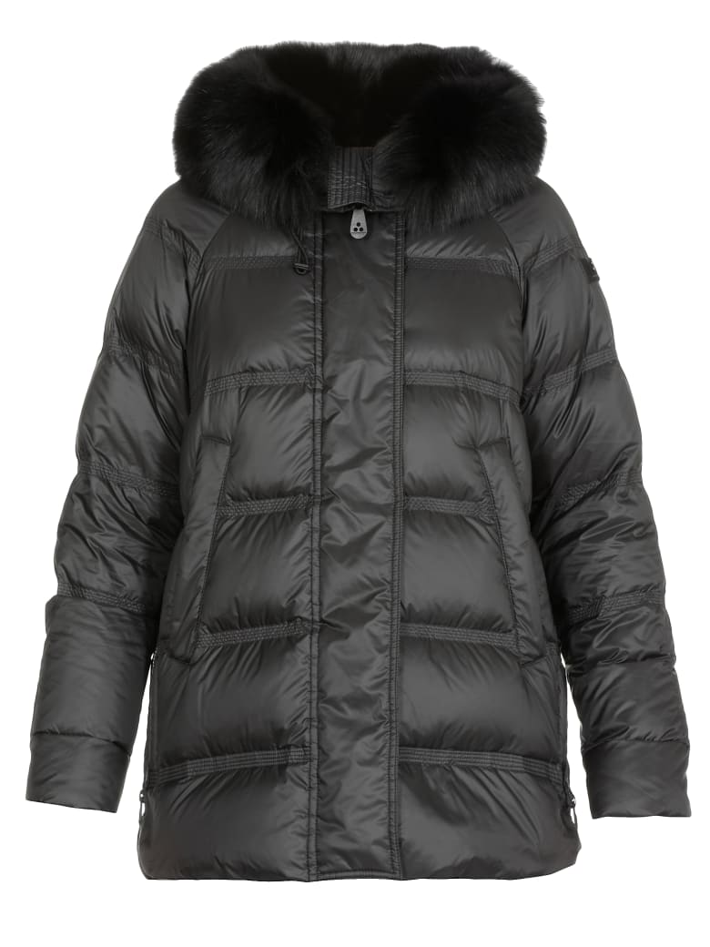 Peuterey Takan Mq Quilted Coat - Black